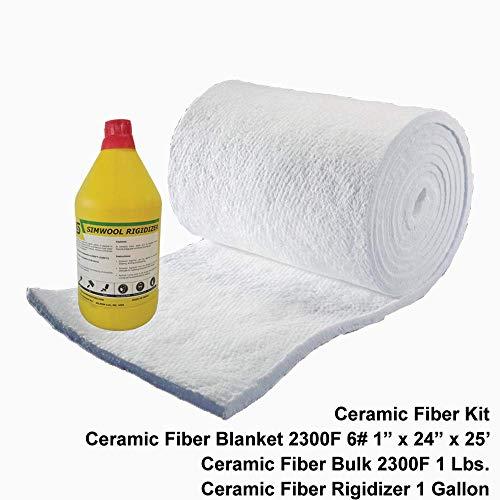 Ceramic Fiber Kit 2300F Box of 1