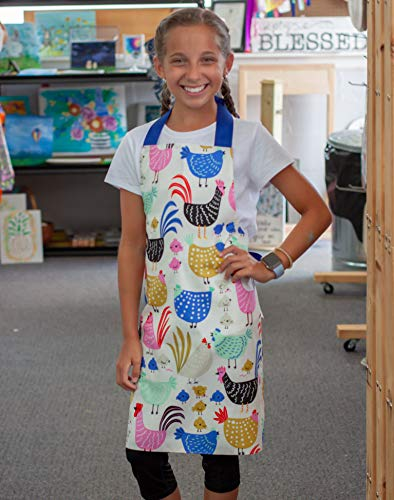 chicken apron for girls - 4
