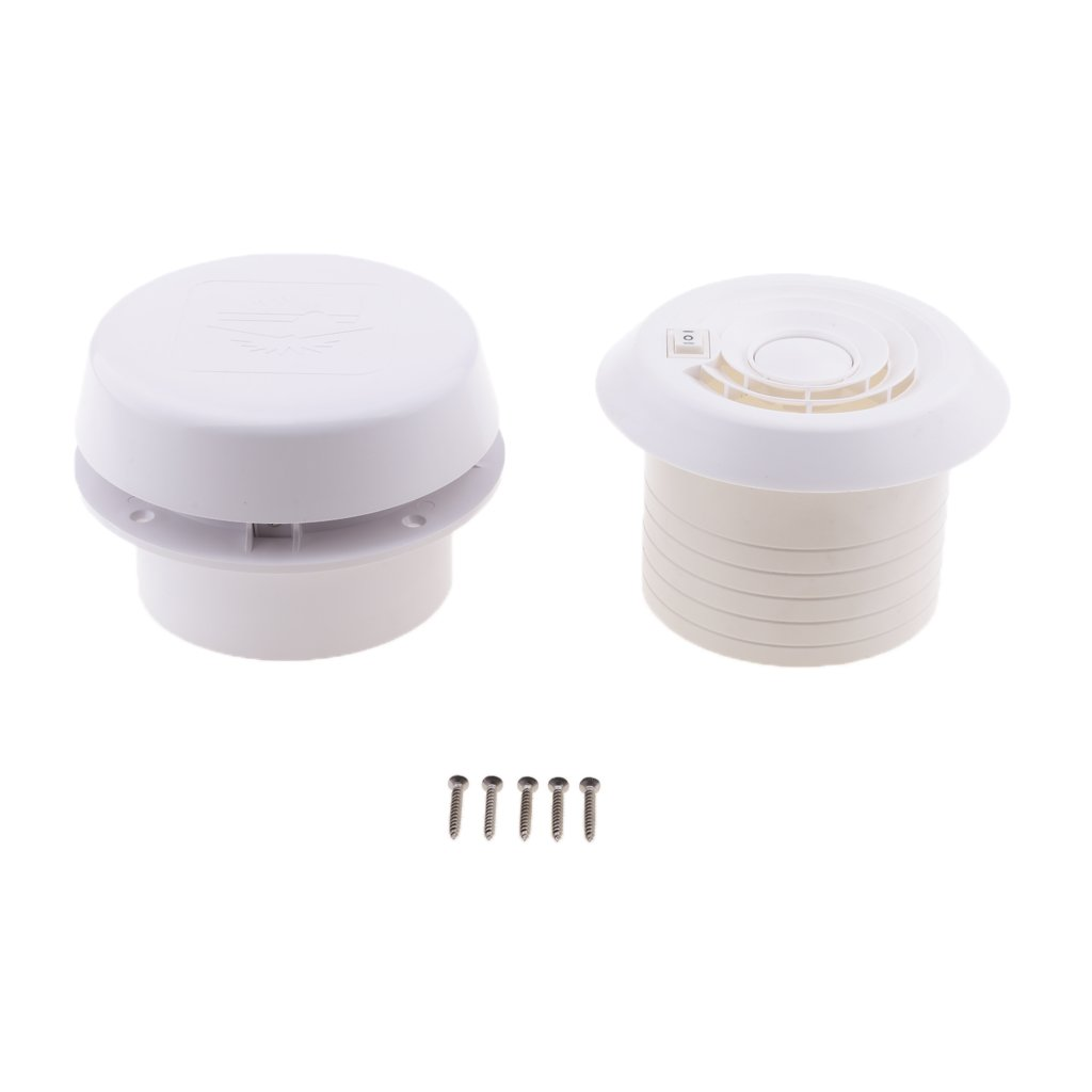 Jili Online 12V RV Motorhome Roof Vent Ventilation Cooling Exhaust Fan
