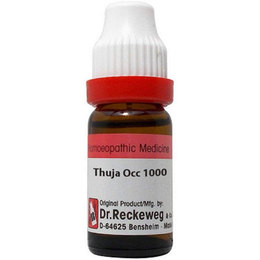 Dr. Reckeweg Thuja Occidentalis (11ml) (Select Potency) by USAMALL (1000 CH (1 M))