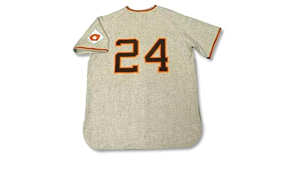 56c6c8e4 WILLIE MAYS New York Giants 1951 MITCHELL & NESS Authentic Throwback Away  Baseball Jersey, 48/XL, Clothing - Amazon Canada