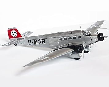 Junkers Ju 52/3M Diecast 1: 72Modelo, Avión De Transporte ...