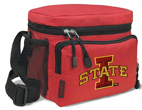 Broad Bay ISU Cyclones Lunch Bags NCAA Iowa State Lunch Boxes by Broad Bay