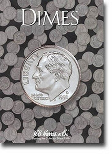Harris Roosevelt Dimes Blanks Current Coin Folder -