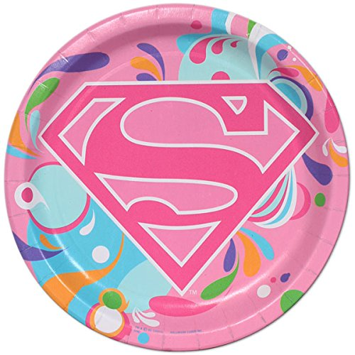 Super Girl Power Large Paper Plates (8ct)