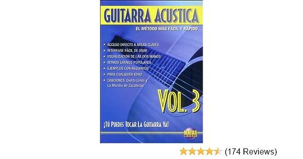 Amazon.com: Guitarra Acustica: Tu Puedes Tocar La Guitarra Ya! (Spanish Language Edition), Dvd: Rogelio Maya: Movies & TV