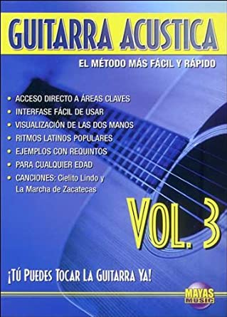 Guitarra Acustica: Tu Puedes Tocar La Guitarra Ya! (Spanish Language Edition),