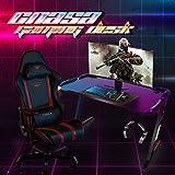 CNASA Gaming Desk,Premium Home Office PC Computer