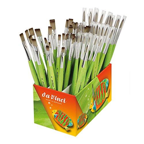 da Vinci 4090FIT Box-93 Brushes, Rounds And Flats by DaVinci