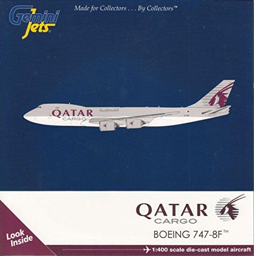 GEMGJ1720 1:400 Gemini Jets Qatar Cargo Boeing 747-8F Reg #A7-BGB (pre-painted/pre-built) ()
