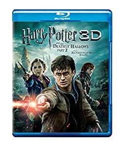 Harry Potter and the Deathly Hallows: Part 2 [Blu-ray 3D + Blu-ray] (Bilingual) [Import]