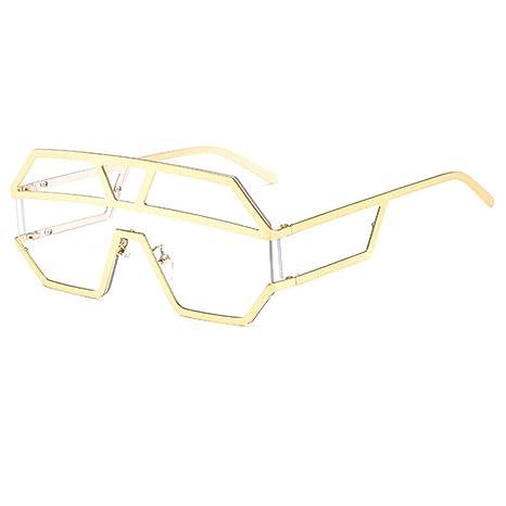 Yangjing-hl Nuevas Gafas de Sol de Lente de una Pieza para ...