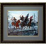 The Battle of Shiloh, Forrest and Morgan. Framed Art By Mort Kunstler