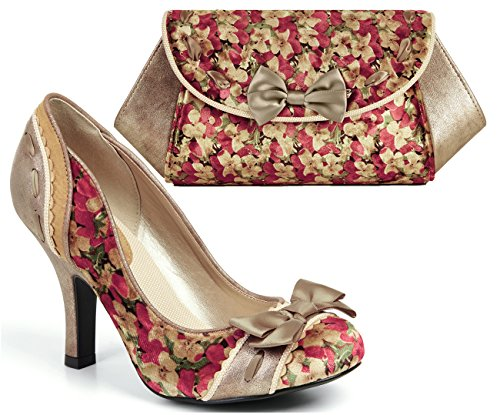 4152cc1373c7a Ruby Shoo Women's Amy Court Shoes and Matching Palma Bag - Buy Online in  Oman. | Shoes Products in Oman - See Prices, Reviews and Free Delivery in  Muscat, ...