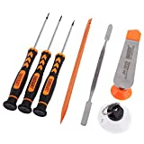 JAKEMY JM-i82 7-in-1 Professional Disassembling Repair Opening Pry Tools Screwdriver Tools Set for Apple Devices