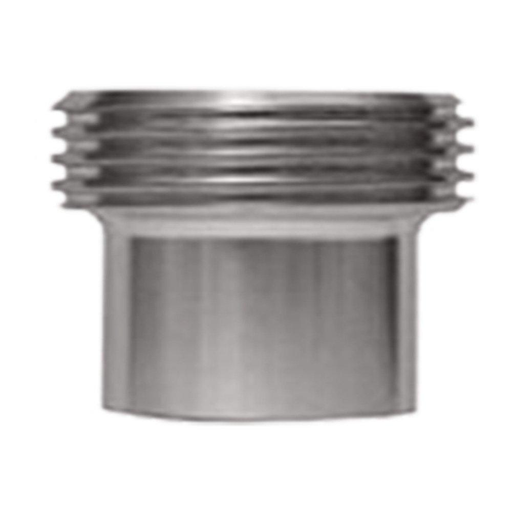 Steel and Obrien EAD01500-304 Stainless Steel L15AJP John Perry Threaded Ferrule 1-1//2 1-1//2