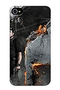 Groovyliterat Case Cover Protector Specially Made For Iphone 4/4s Expendable 2 Ylvester Tallone Wide