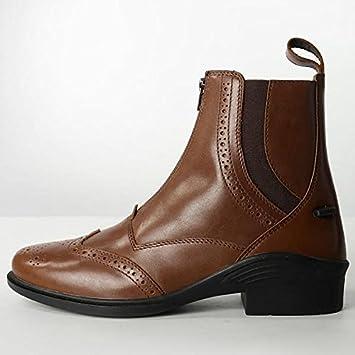 e1ac820503ed1 Brogini Epsom Bottines – Cheval Poney d équitation – Jodhpur Noir ou marron  clair