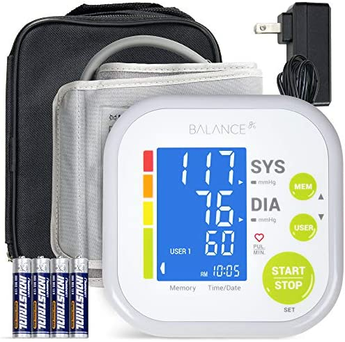 Greater Goods Blood Pressure Monitor Cuff Kit by Balance, Digital BP Meter with