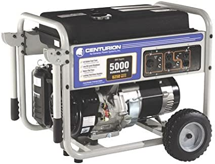 Amazon.com : Centurion 5577 5, 000 Watt 389cc OHV Gas Powered Portable  Generator With Wheel Kit & 20-Foot Power Cord (Discontinued by  Manufacturer) : Garden & OutdoorAmazon.com