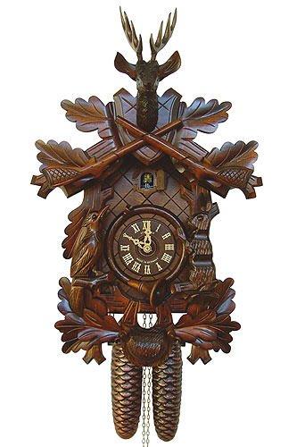 Anton Schneider Cuckoo Clock Hunting Clock - Hunting Cuckoo Clock