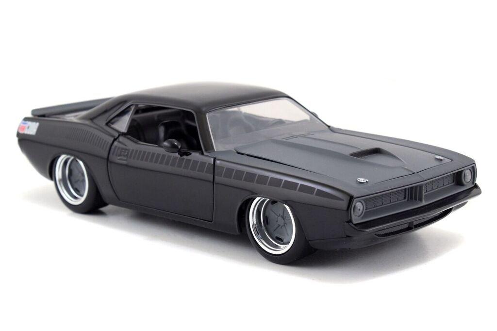 Jada Toys Fast & Furious 1970 Plymouth Barracuda 1:24 Diecast Vehicle
