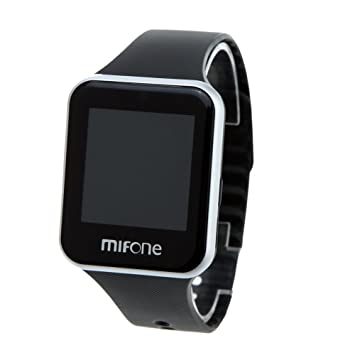 MIFone W13 2.5D 1.54 pulgadas Zafiro pantalla táctil reloj inteligente de múltiples funciones inteligente Bluetooth