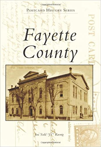 Book Fayette County (Postcard History) by Jon Todd