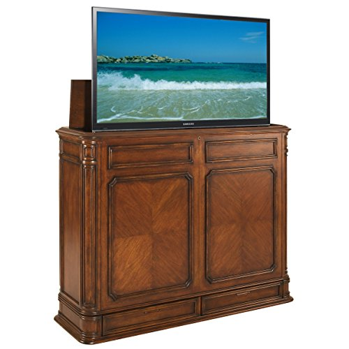 TVLiftCabinet Crystal Pointe TV Cabinet, X-Large, Brown