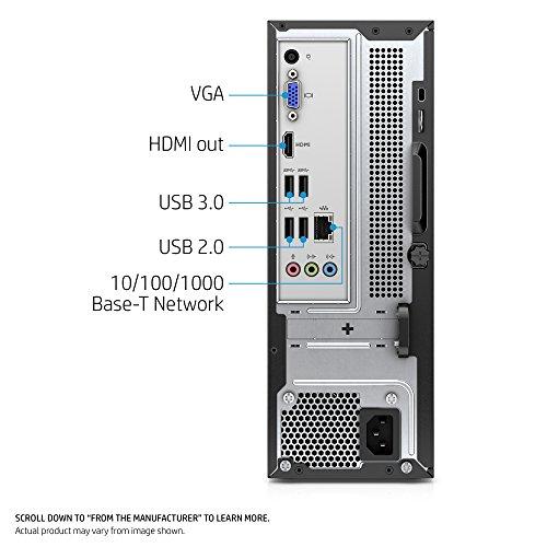 Hp Slimline Desktop Computer Intel Pentium J4205 4gb Ram