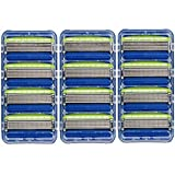 hydro replacement blades - Schick Hydro 5 Mens Sensitive Razor Blade Refills 12 Count - Unboxed