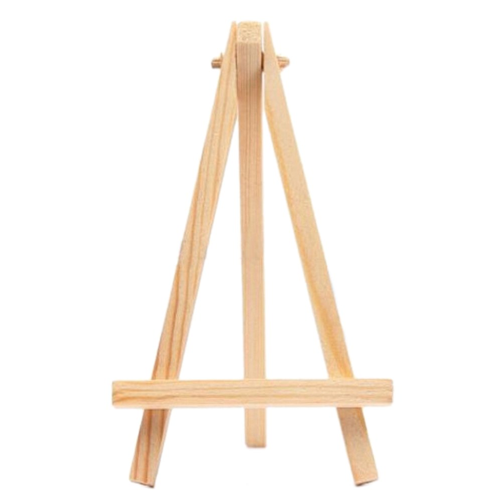 1 Pcs Mini Wood Display Easel Wedding Place Name Card Holder Stand by Wetrys Clarity Deal