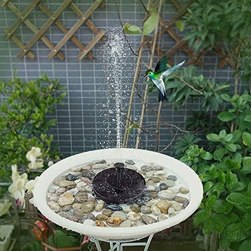 7 V Solar Fontein Watering Solar Pomp Zwembad Vijver Drijvende Vogelbad Water Panel Fontein Pomp Vijver Zwembad…