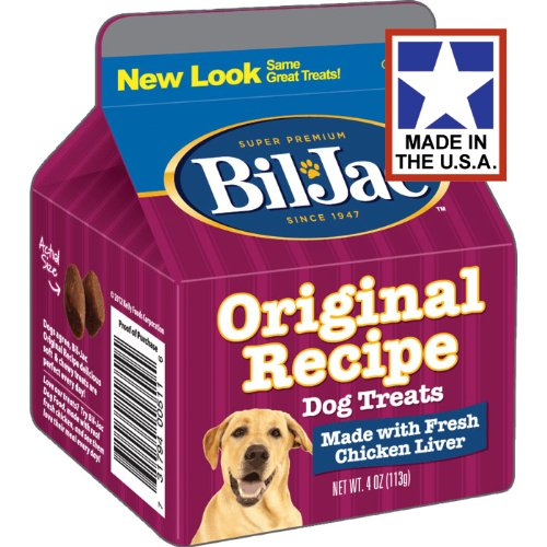 4 Cartons Ounce (Bil-Jac Liver Treats for Dogs)
