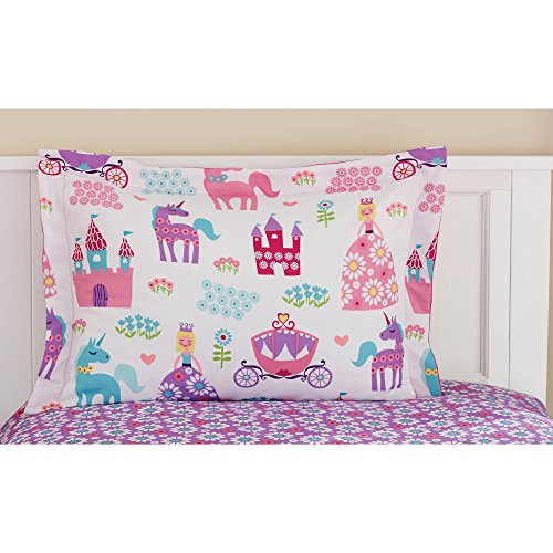 Mainstays Kids Pretty Princess Sheets Pillowcases
