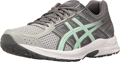 - ASICS Gel-Contend 4 Women's Running Shoe, Mid Grey/Glacier Sea/Silver, 8.5 W US