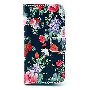 WEV Flower Pattern Full Body Case for Samsung S4 MINI I9190
