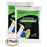 Ecotrition Gravel Paper for Birds, 11 by 17-Inch, 7-Count (C354) (2 pack)