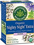 Traditional Medicinals Nighty Night Valerian Organic Tea 16/Pack (Pack of 2)