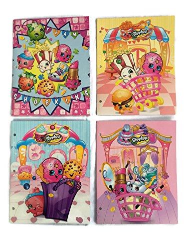 Shopkins Bundle of 4 School Portfolio Folders (2-Pocket) by Shopkins (Image #6)