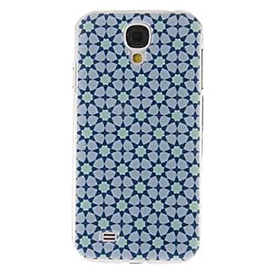 Patrón Gypsophila Acutifolia caso de la cubierta protectora dura de plástico para el Samsung Galaxy S4 i9500