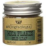 Creative Converting Finnabair Art Ingredients Mica Flakes, 1 oz, Gold Leaf