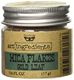Creative Converting Finnabair Art Ingredients Mica Flakes, 1 oz, Gold Leaf