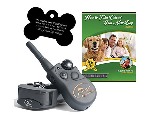 SportDOG SD-425 500 Yard Remote Dog Trainer with Free E-Book and Customized Bone Shaped Dog Tags (1 Dog System) by SportDOG Brand