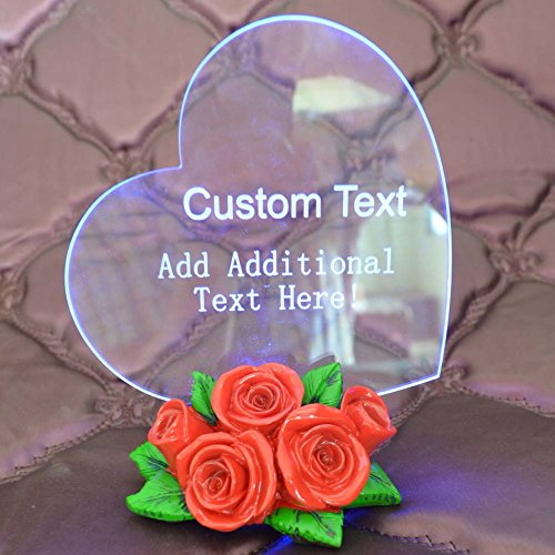 Personalized Custom Etched Ornament Weeding product image