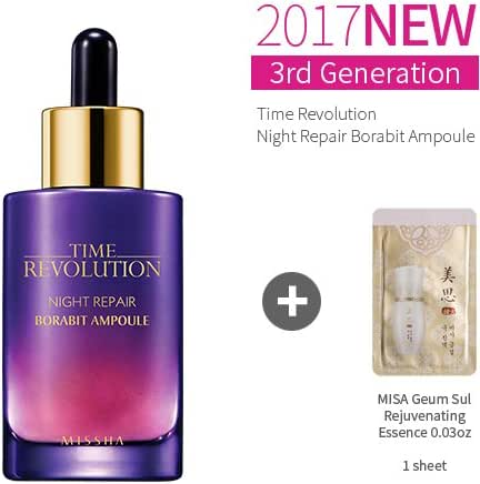 Missha Time Revolution Night Repair Science Activator Ampoule Serums1.69oz(50ml)+Sample1