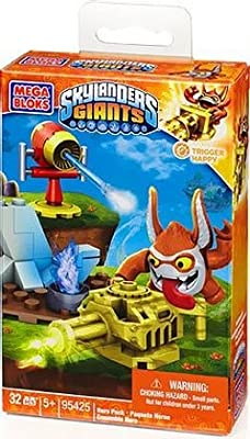 Mega Bloks Skylanders Tech Trigger Happy with Gantling Gun Building Kit