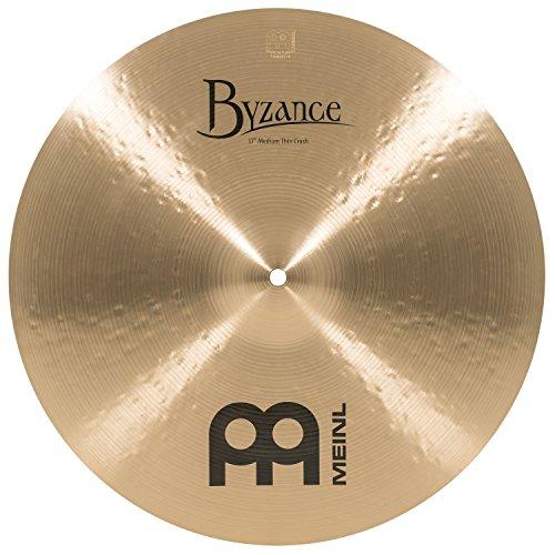 Meinl Cymbals B17MTC Byzance 17-Inch Medium Thin Traditional Crash Cymbal (Byzance Traditional Medium Thin)