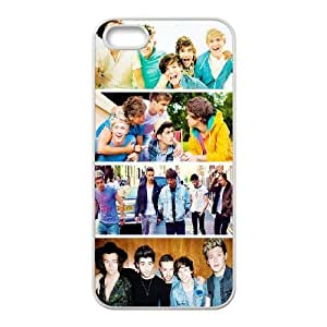 Custom High Quality WUCHAOGUI Phone case One Direction Music Band Protective Case For Apple Iphone 5 5S Cases - Case-18