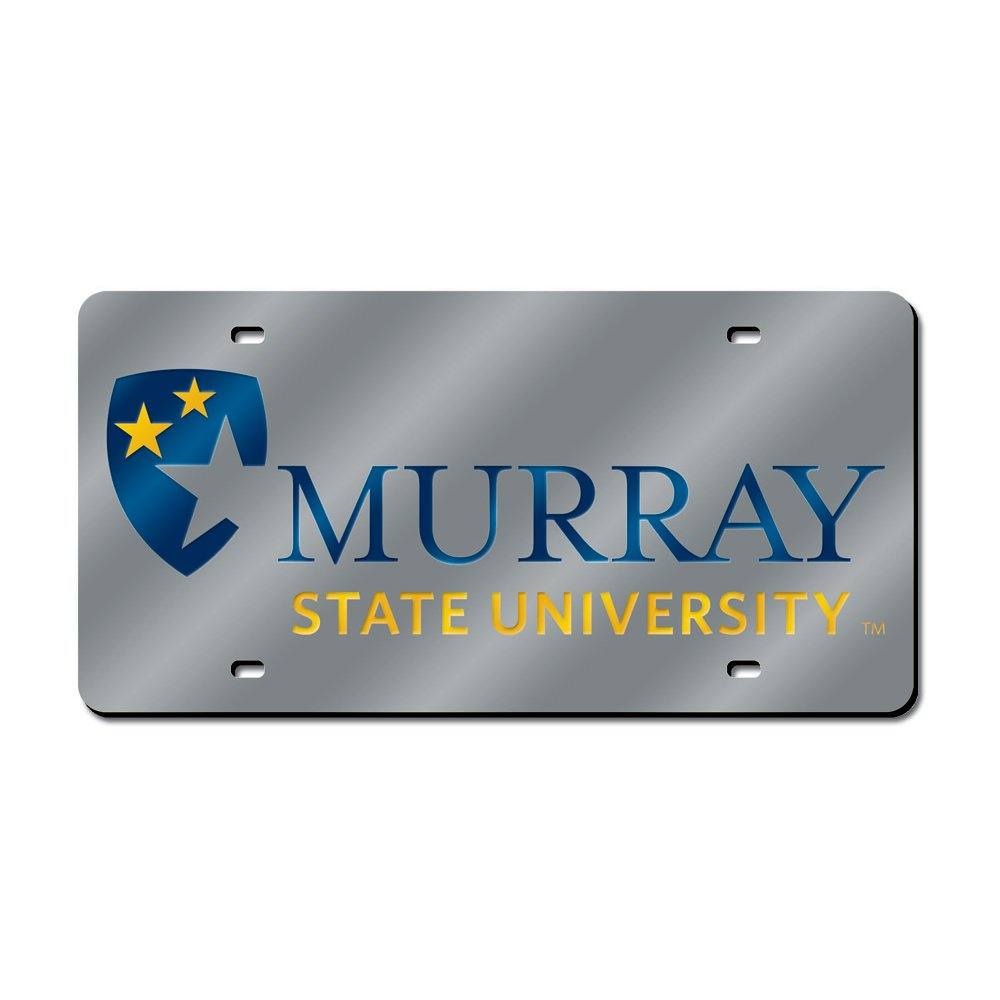 LZS190301 Silver Rico Industries Inc NCAA Murray State Racers Laser Cut License Plate